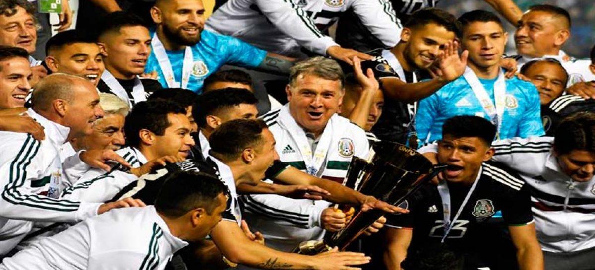 México se proclamó campeón de la Copa de Oro