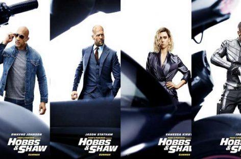 «The Rock», Statham y Elba, trío letal en estreno de «Fast & Furious»