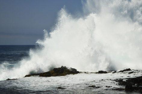 Emiten aviso de prevención por mareas altas hasta el 4 de octubre