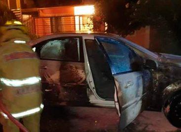 Incendian vehículos al sureste de México como amenaza a la Guardia Nacional