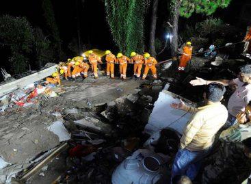 Suben a 12 los muertos y 30 heridos por derrumbe de edificio en India