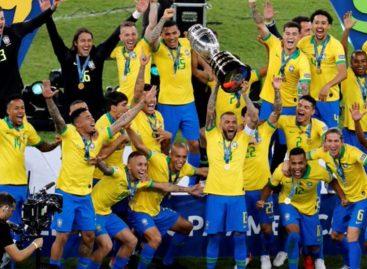 Brasil se coronó en su casa como el mejor de América (+Videos)