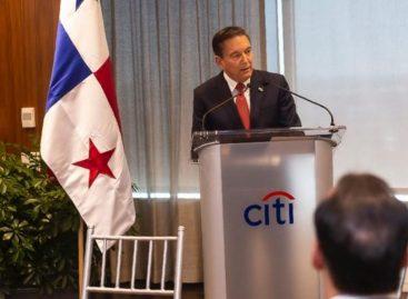 Cortizo se reunió en Nueva York con directivos de Citibank y de otras 18 entidades bancarias