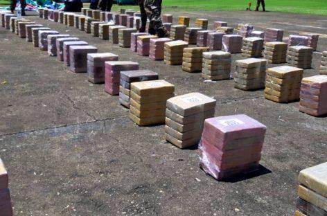 Incautaron 1.125 paquetes de droga en la Bahía de Panamá
