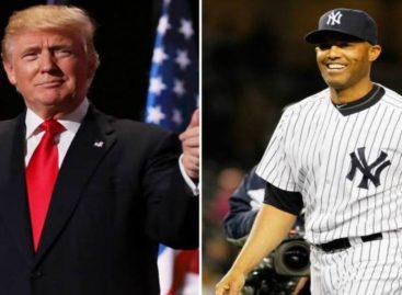Mariano Rivera defendió a Trump: Era mi amigo antes de ser presidente y eso no va a cambiar ahora