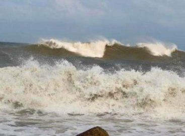 Se mantiene alerta de prevención por fuerte oleaje
