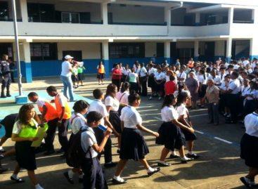 El próximo 12 de julio Sinaproc realizará en las escuelas un simulacro sobre sismos