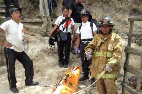 Muere turista francesa en Guatemala al resbalar en un mirador