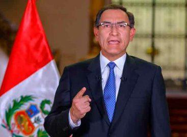 Presidente de Perú en su hora más compleja con pedido de adelanto de comicios