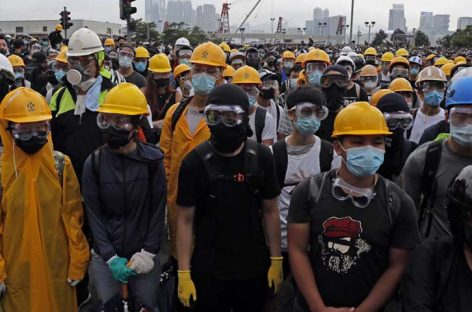 Hong Kong: Manifestantes buscan en «campaña difamatoria» apoyo internacional
