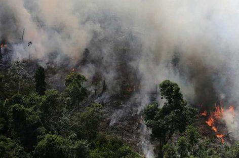 Llega a Perú humo de los incendios en Bolivia y en la Amazonía de Brasil