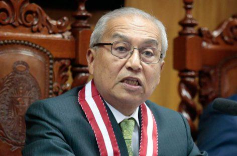 Ex fiscal general de Perú será procesado por despedir a fiscales del caso Lava Jato