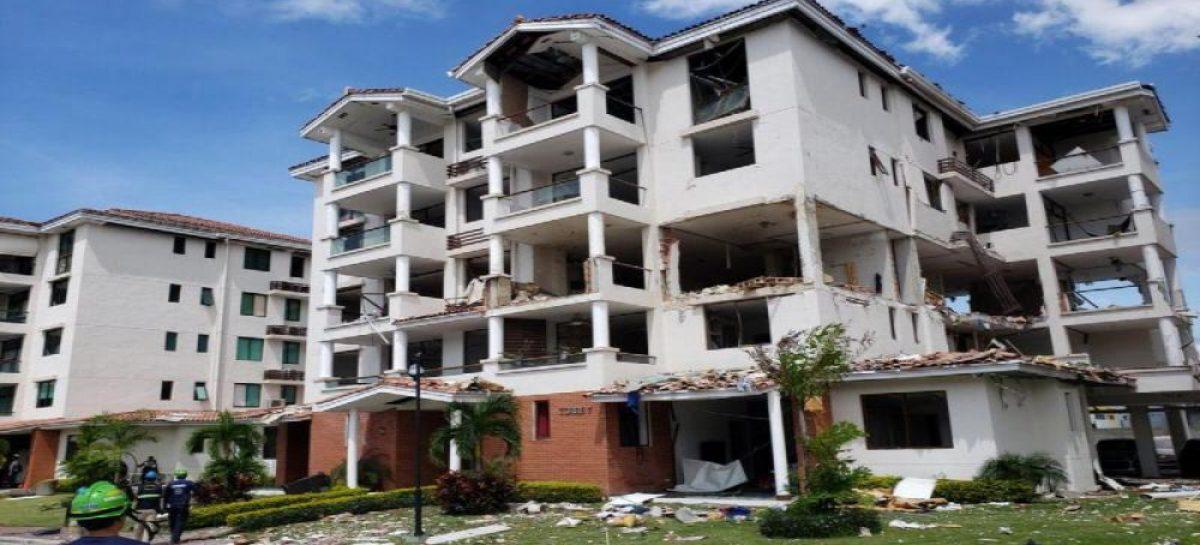 Tres imputados por explosión en PH Costa Mare