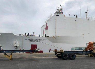 Largas filas en Colón para recibir atención médica del buque hospital USNS