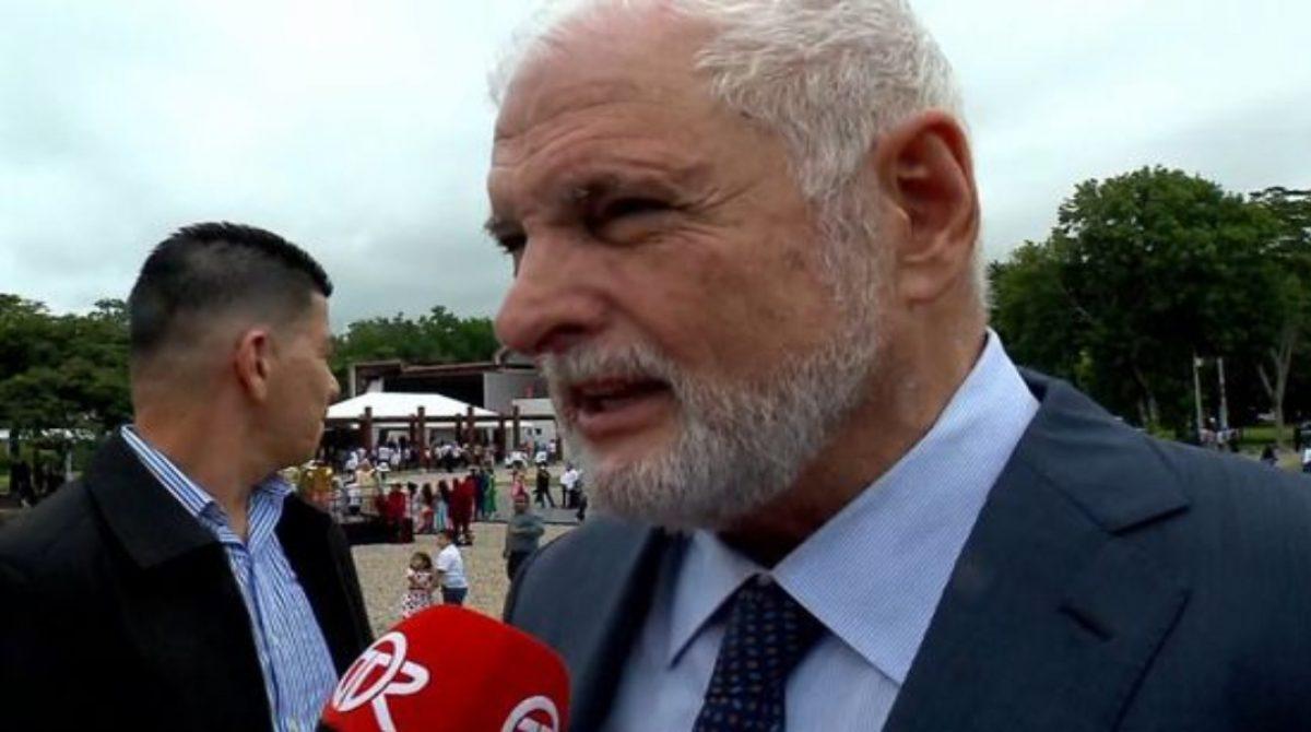 Martinelli dijo que desconocía la iniciativa que le permitiría ser diputado suplente de Mayín Correa