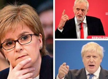 Sturgeon: Corbyn será corresponsable junto a Johnson de un brexit abrupto
