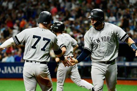 Los Yankees rompen récords con 52HR contra Orioles