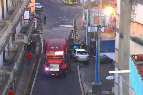 Policía Nacional desmintió la versión del robo tras aparatoso accidente en El Chorrillo