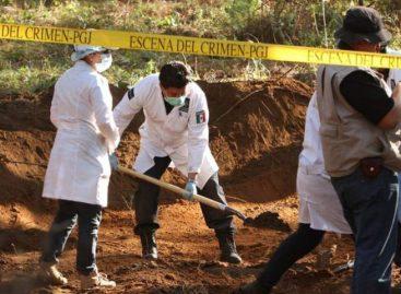 Hallan 3 mil 024 fosas clandestinas con 4 mil 974 cuerpos desde 2006 en México
