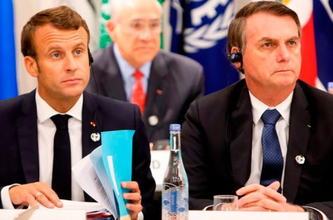Macron acusa a Bolsonaro de «mentir» en sus compromisos