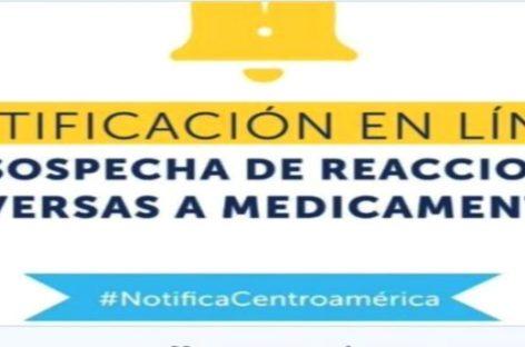 Conozca el portal web para notificar en línea reacciones adversas a medicamentos