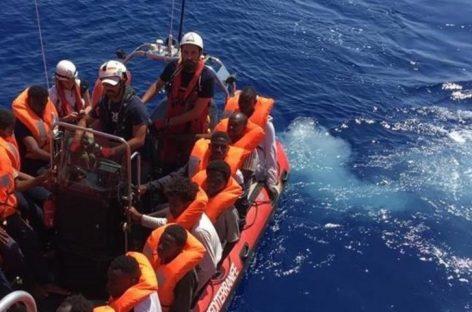 Seis países europeos acogerán a 356 migrantes del Ocean Viking