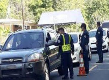 Más de 7 mil conductores sancionados durante este fin de semana