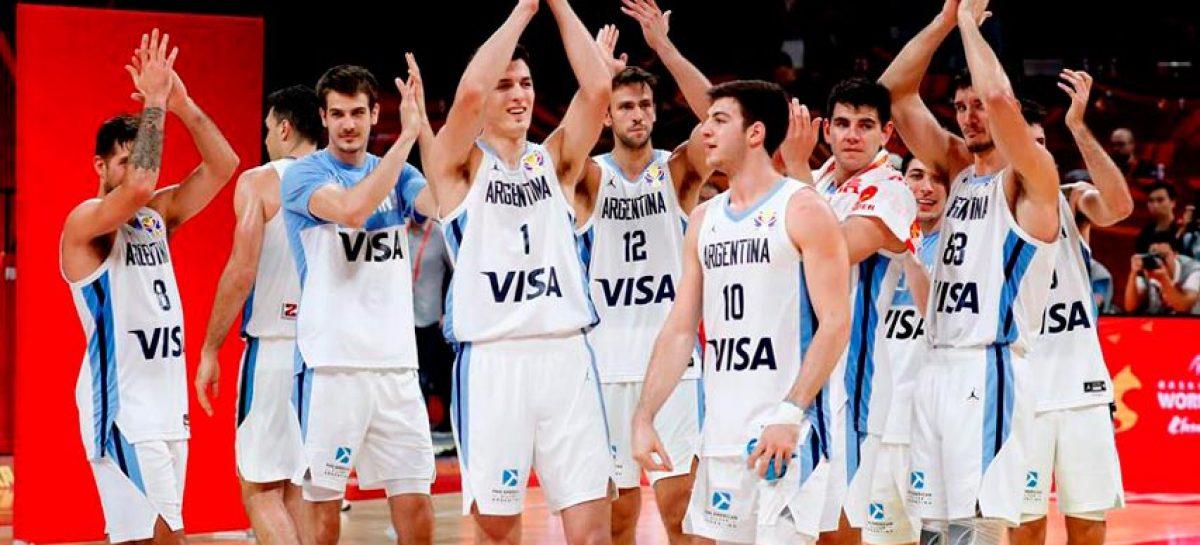 Argentina avanzó a la final del mundial de baloncesto