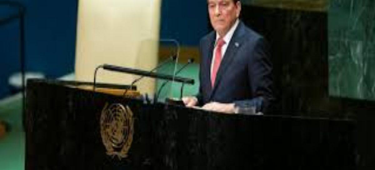 Cortizo ofrece a Panamá para «diálogos efectivos» durante su primer discurso ante la ONU