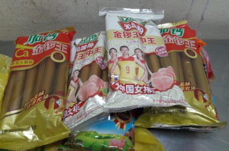 Incautaron productos porcinos y pollo a un pasajero asiático en Tocumen