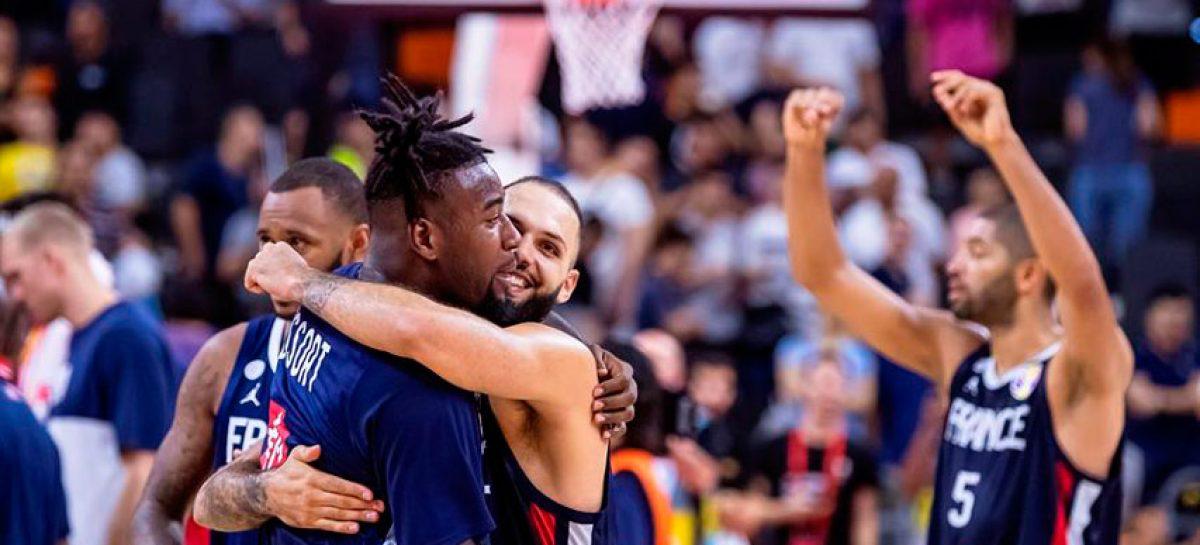 Francia dio el gran golpe y avanzó a semifinales del Mundial de baloncesto