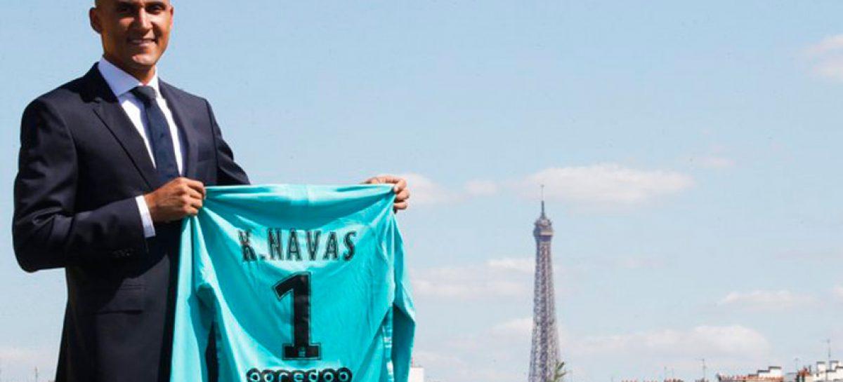 El Real Madrid traspasó a Keylor Navas al PSG