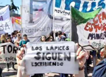 Argentina conmemoró el 43 aniversario de «la noche de los lápices»
