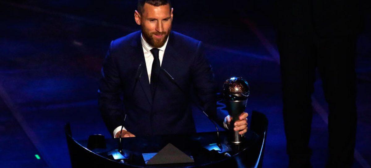 Messi ganó el «The Best» a mejor jugador del año