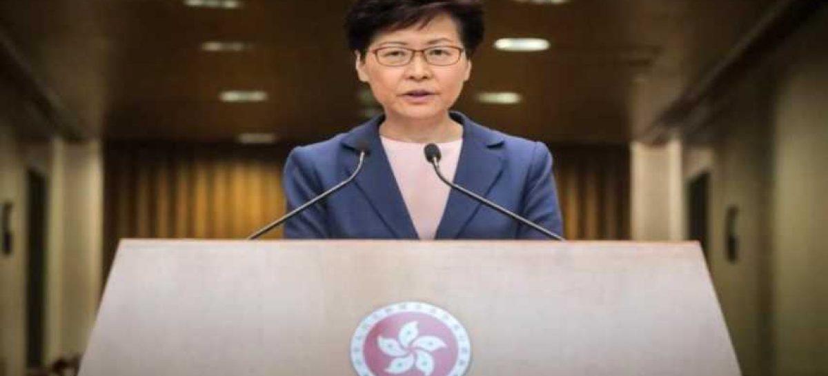 Gobierno de Hong Kong desea poner fin a las protestas con diálogo