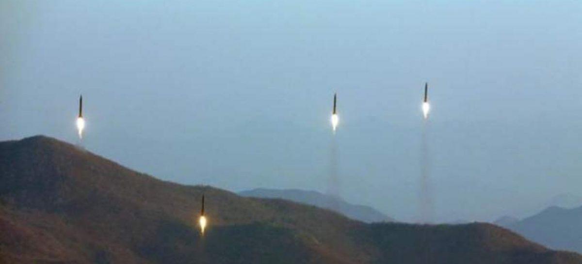Pionyang disparó misiles tras sugerir a EEUU retomar el diálogo