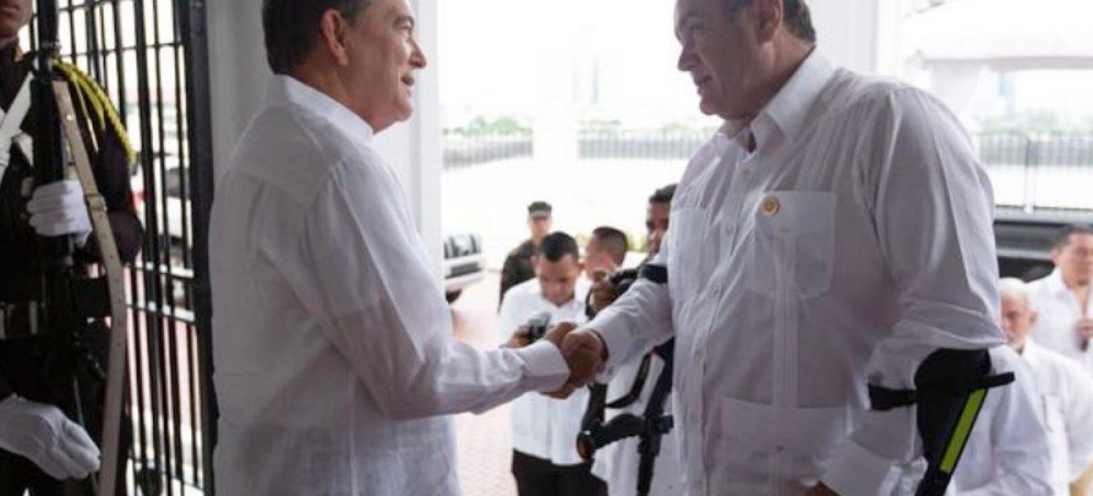 Los temas que trató Cortizo en reunión con el presidente de Guatemala