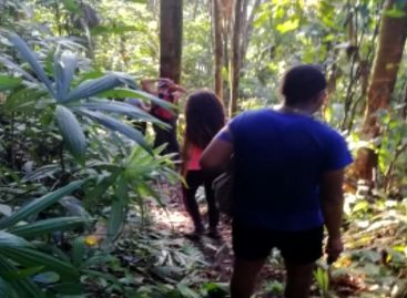 Sinaproc rescató a 8 extraviados en sector montañoso de El Peñón en Las Lajas