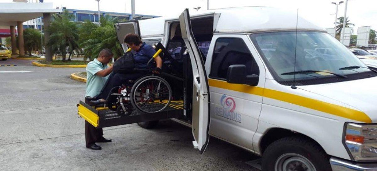 Habilitan buses en terminal de Albrook para trasladar a personas con discapacidad
