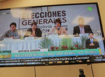 Órgano electoral de Bolivia advierte que los resultados son «sagrados»