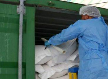 Decomisan cargamento de 600 bolsas de leche proveniente de Nueva Zelanda