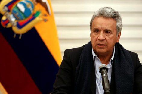 Siete países expresan apoyo a presidente de Ecuador ante crisis por protestas