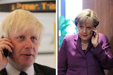 Londres cree que acuerdo brexit es imposible tras charla Johnson-Merkel