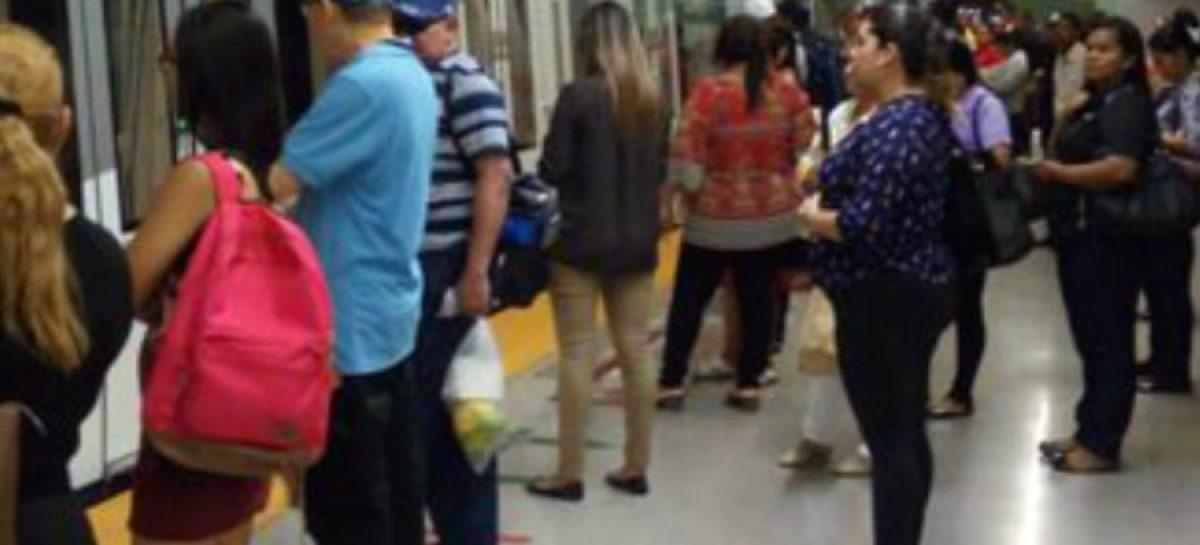 Daño de un tren volvió a paralizar el servicio de la Línea 1 del Metro