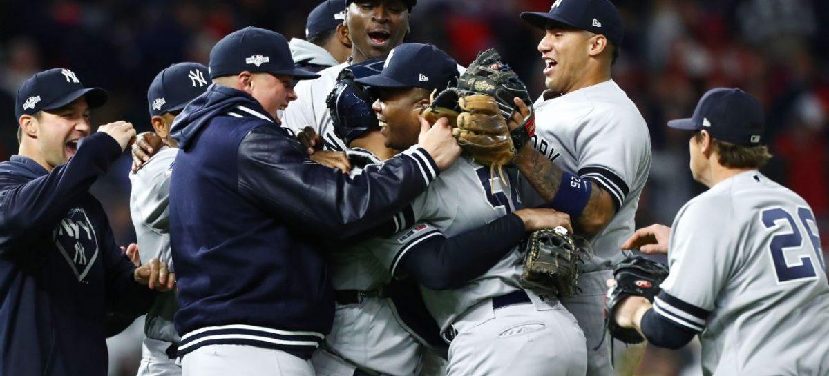 Yankees avanzan a la Serie de Campeonato de la Liga Americana