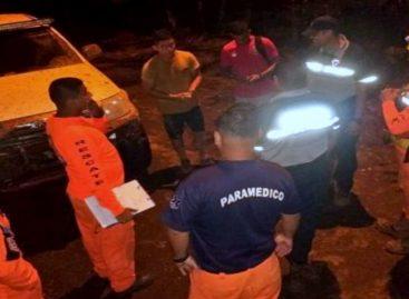 16 personas fueron rescatadas en el río Mamoní de Panamá Este tras fuerte crecida