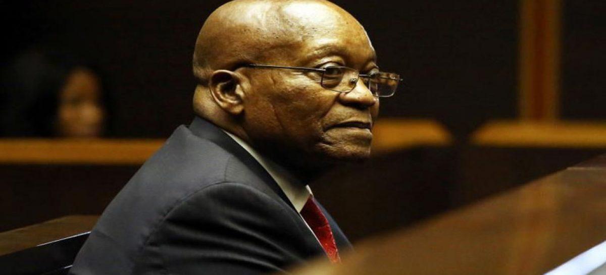 Expresidente Zuma será juzgado por corrupción en Suráfrica