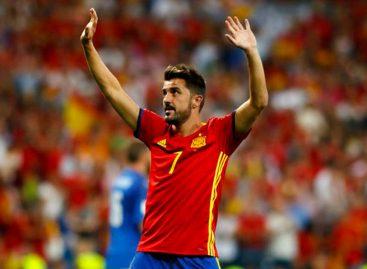 David Villa anunció su retiro del fútbol
