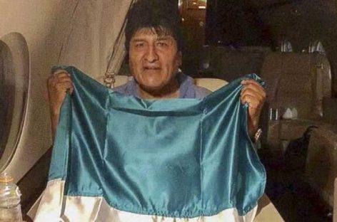 Evo Morales fue recibido por México tras huir de Bolivia