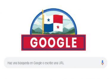El doodle que le dedicó Google a Panamá a los 116 años de separarse de Colombia